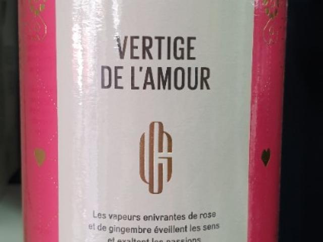 Thé George  CANNON : VERTIGE DE l'AMOUR thé vert BIO , grenade, fruits du dragon ....
